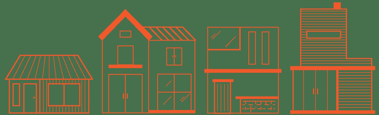 buildings-orange